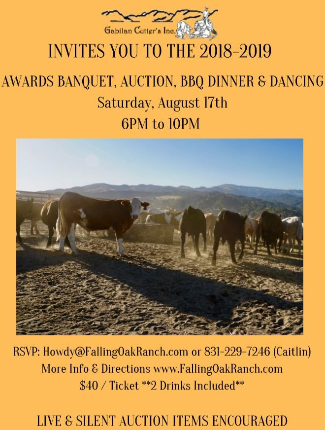 awards banquet flyer